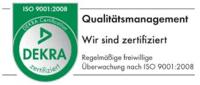HSieben Maschinentechnik Langkampfen - Human Perception Automized Perfection - spanabhebende Bearbeitung, CNC, Fräsen, Automatisation Zertifizierung Qualitätsmanagement Dekra ISO 9001:2008